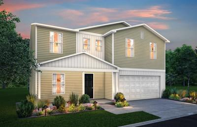 Two-story floor plan | Cedar Creek in Florence, SC | New homes by Century Complete