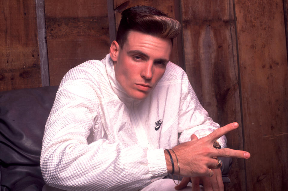 Vanilla Ice, depicted in 1990, is facing criticism for performing at an indoor concert at President Trump's Mar-a-Lago club in Florida. (Photo: Paul Natkin/Getty Images)