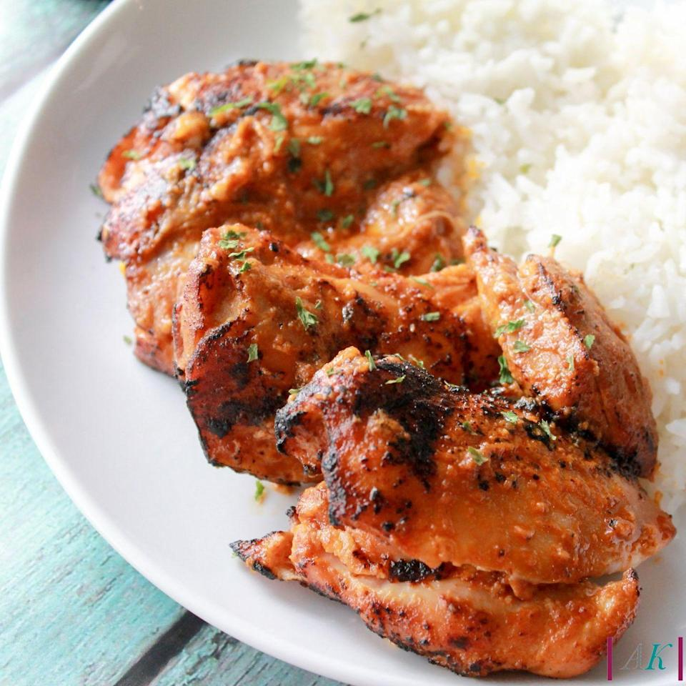 """<p>Betcha didn't know your slow-cooker could do this!</p><p>Get the recipe from <a href=""""http://almost-kosher.net/2016/06/28/slow-cooker-chicken-tandoori-and-almost-koshers-new-look/"""" rel=""""nofollow noopener"""" target=""""_blank"""" data-ylk=""""slk:Almost Kosher"""" class=""""link rapid-noclick-resp"""">Almost Kosher</a>.</p>"""