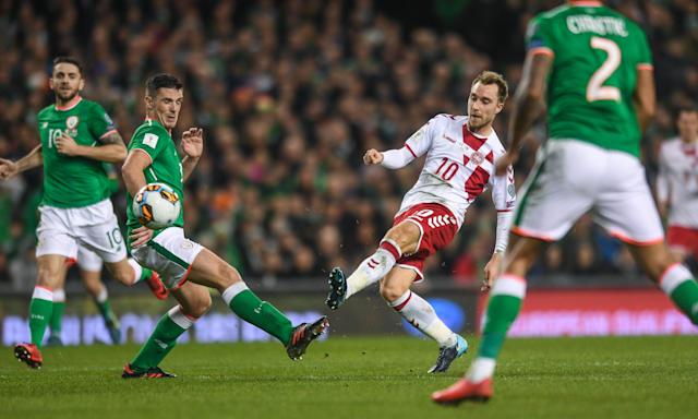 Christian Eriksen's class was one of the defining factors as Denmark ended Ireland's World Cup dream.