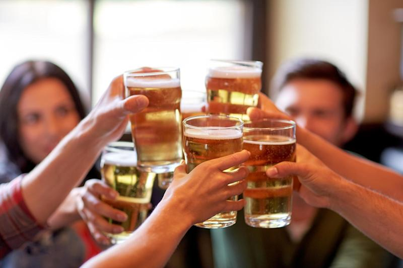 Revenue from alcohol sales in England would plummet by £13bn if customers complied with drinking guidelines, a new study shows: Shutterstock