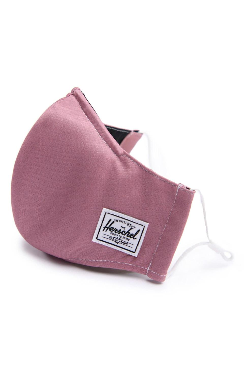 <p>Upgrade their mask collection with this <span>Herschel Supply Co. Fitted Face Mask</span> ($15).</p>