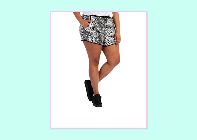"<p>$20, <a href=""http://www.charlotterusse.com/plus-size-printed-drawstring-shorts/302365789.html?dwvar_302365789_color=008&cgid=plus-size-shorts#start=9"" rel=""nofollow noopener"" target=""_blank"" data-ylk=""slk:Charlotte Russe"" class=""link rapid-noclick-resp"">Charlotte Russe</a> </p>"