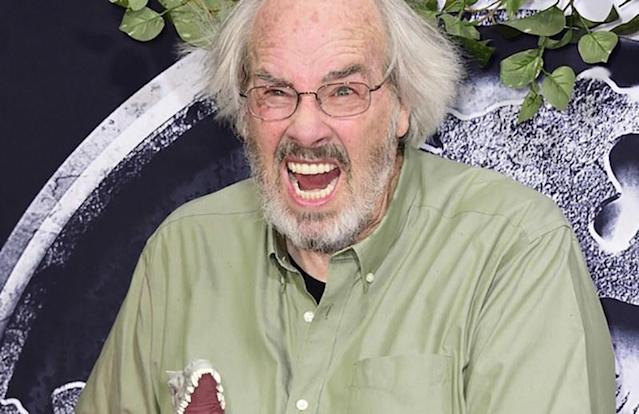 "<h1 class=""title"">Premiere Of Universal Pictures' ""Jurassic World"" - Arrivals</h1> <div class=""caption""> HOLLYWOOD, CA - JUNE 09: Paleontologist Jack Horner attends the Universal Pictures' ""Jurassic World"" premiere at Dolby Theatre on June 9, 2015 in Hollywood, California. (Photo by Frazer Harrison/Getty Images) </div> <cite class=""credit"">Frazer Harrison</cite>"