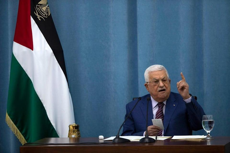 Palestinians Politics (Copyright 2021 The Associated Press. All rights reserved.)