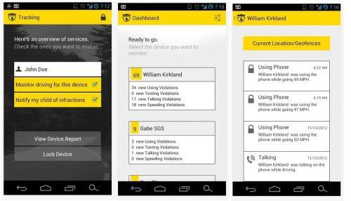 canary app teen driver safety