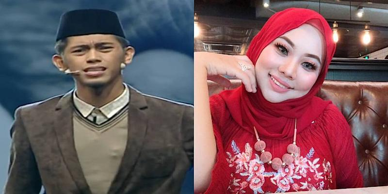 Zaidah (right) said her husband has repeatedly tested her patience over the past four years. — Pictures from YouTube/TV3Malaysia Official and Facebook/aida.ismail.775