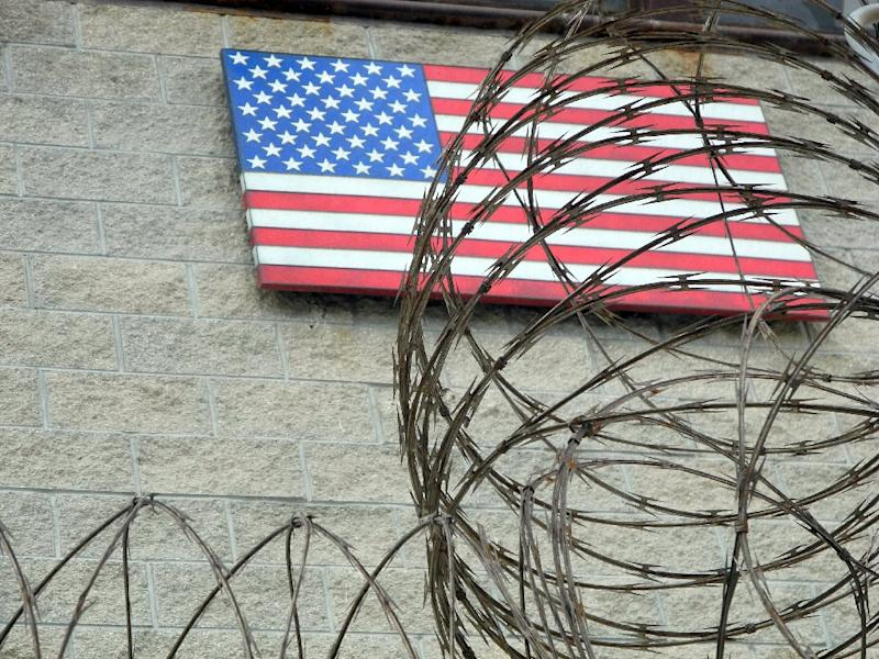 """The White House is in the """"final stages"""" of a plan to close the Guantanamo Bay detention facility, pictured on August 7, 2013"""