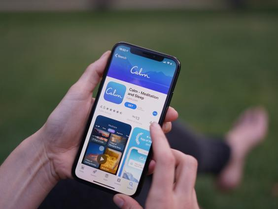The Calm app has been downloaded 52 million times (Shutterstock)