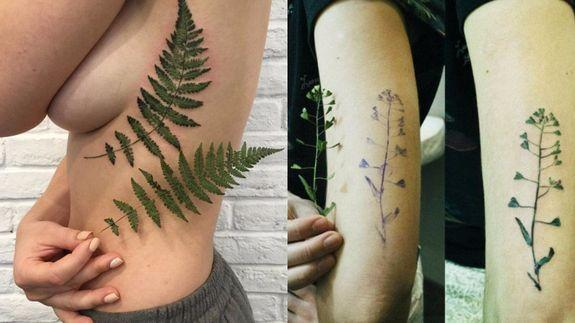 Delicate botanical tattoos are perfect for people who forget to http3a2f2fiprintshable2fya5bexqswaqh5qngrgu44chfra malvernweather Image collections