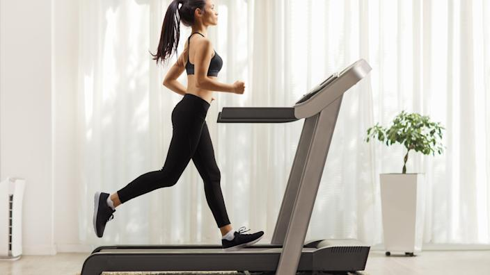 Even if you can't run outdoors, this discounted treadmill can help you recreate the experience inside.