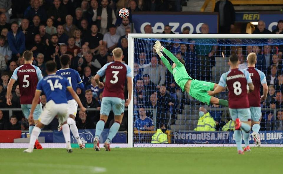 An Andros Townsend stunner was the pick of the three Everton goals. (Getty Images)
