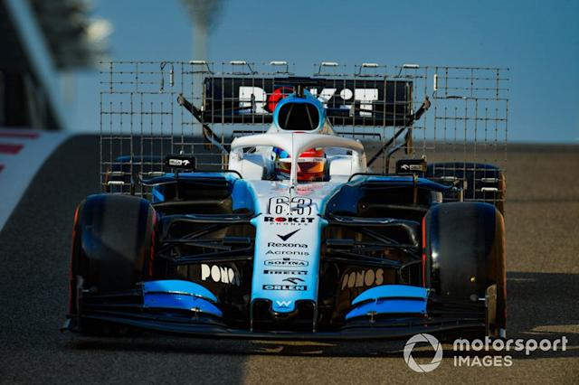 """George Russell, Williams Racing FW42 <span class=""""copyright"""">Jerry Andre / Motorsport Images</span>"""
