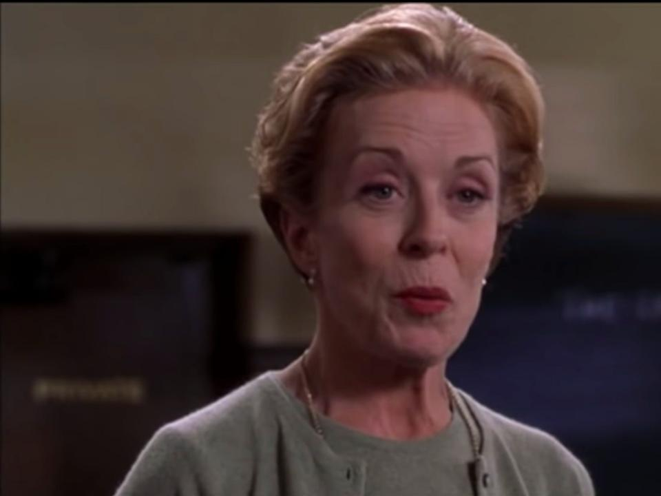 """Holland Taylor in """"Legally Blonde."""""""