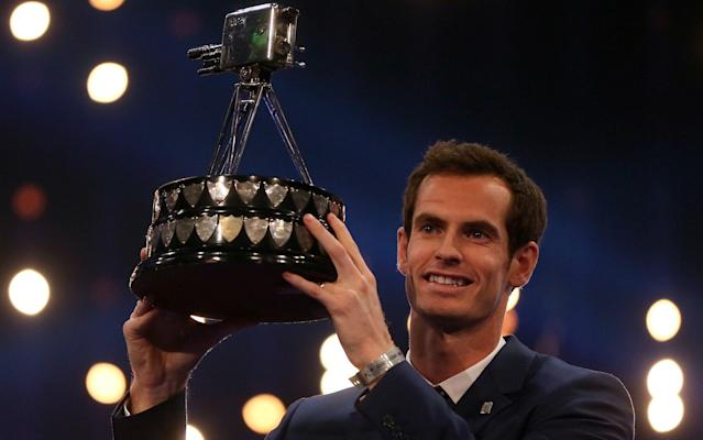 Andy Murray crowned SPOTY winner in 2015 - PA
