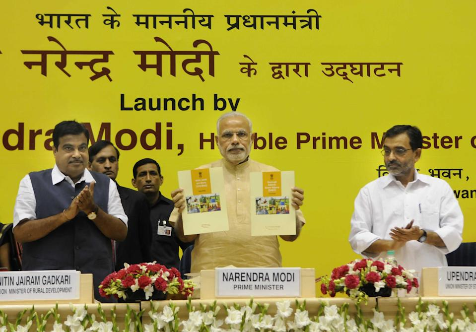 <strong>Launched on October 11, 2014</strong> Sansad Adarsh Gram Yojana, SAGY is a rural development programme broadly focusing upon the development in villages which includes social development, cultural development and spread motivation among the people on social mobilisation of the village community.