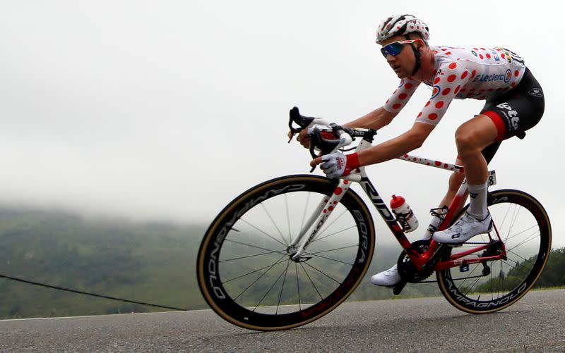 Cycling: Wellens wins Vuelta stage five, Roglic still leads overall