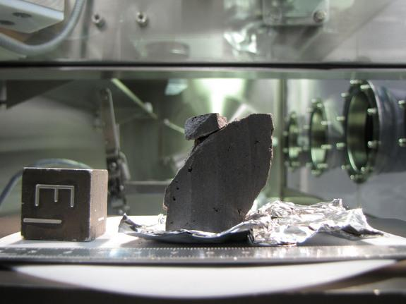Some Apollo Moon Samples 'Crumbling to Dust'