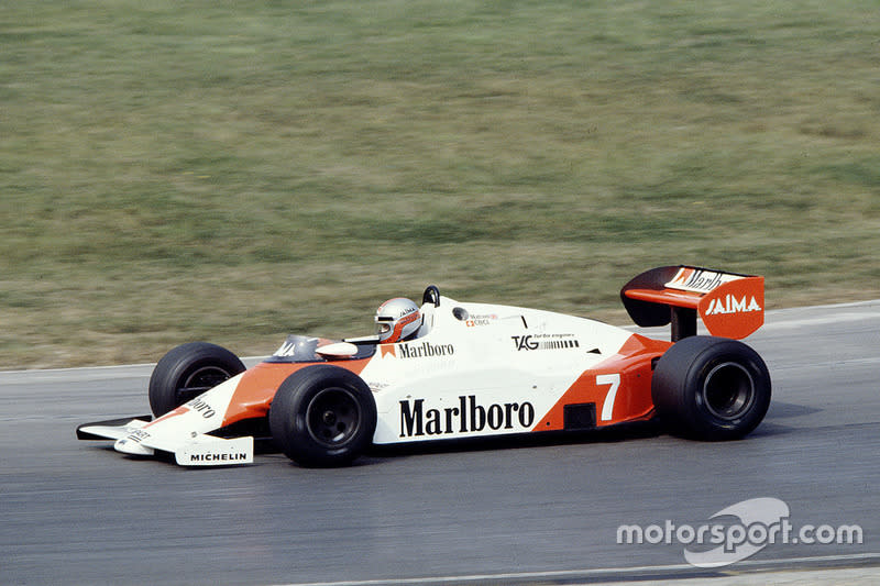 "1983: McLaren-Porsche MP4/1E<span class=""copyright"">LAT Images</span>"