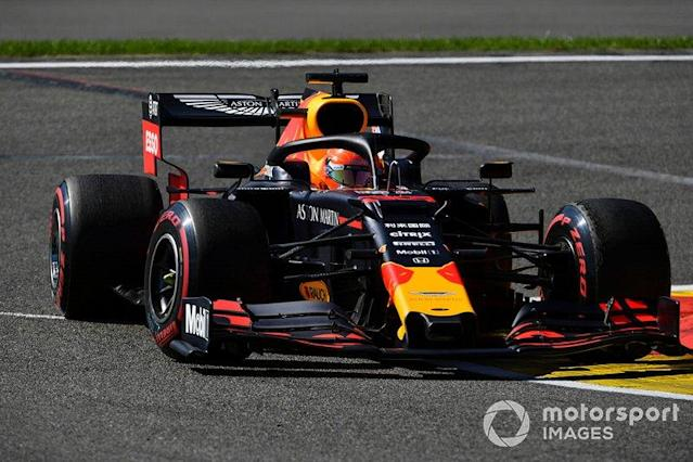 """Max Verstappen, Red Bull Racing RB15 <span class=""""copyright"""">Mark Sutton / Sutton Images</span>"""