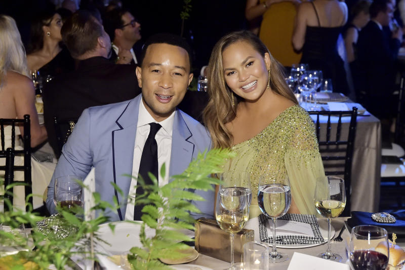 John Legend wished wife Chrissy Teigen a happy 34th birthday on November 30, 2019. (Photo by Stefanie Keenan/Getty Images for Baby2Baby)