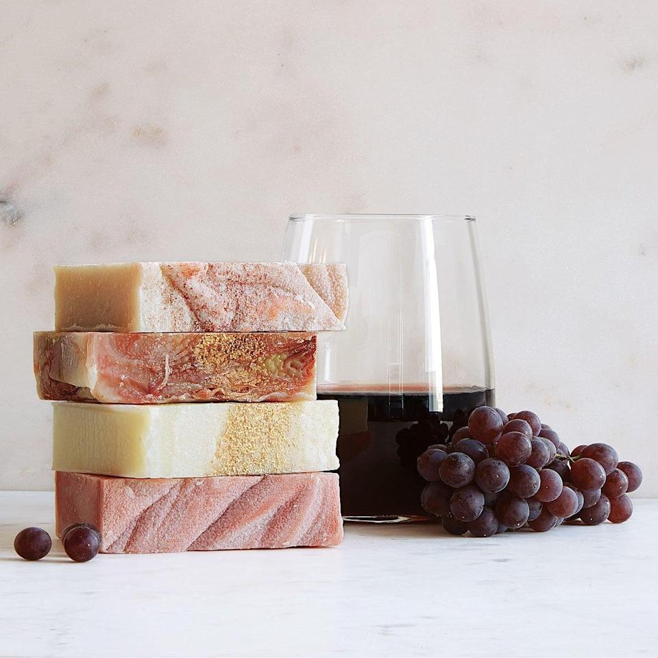 <p>Wine-lovers will be intrigued by these <span>Wine Soaps</span> ($30).</p>