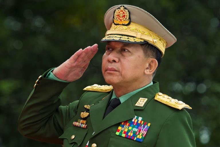 General Min Aung Hlaing -- arguably Myanmar's most powerful individual -- said in certain circumstances it could be 'necessary to revoke the constitution'