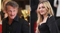 """What a difference a few decades can make on a relationship. Madonna and Sean Penn had a pretty tumultuous divorce in 1989, but 26 years later, they're vying for the title of friendliest exes in Hollywood! <strong> WATCH: Madonna Spanks Amy Schumer at <em>Rebel Heart </em>Concert</strong> On Thursday night, Penn was spotted by an ET insider enjoying the second night of Madonna's <em>Rebel Heart</em> tour at Madison Square Garden in New York City. The 55-year-old actor didn't even appear awkward when the Material Girl performed her hit, """"True Blue,"""" which was inspired by him. In fact, Madonna's former husband had a sweet smile on his face! Madonna actually dedicated the entire <em>True Blue</em> album to Penn in 1986. """"This is dedicated to my husband, the coolest guy in the universe,"""" she wrote in the liner notes. During her show, the 57-year-old music icon also admitted that she's not sure if she'll ever wed again. (She was married to director Guy Ritchie from 2000 to 2008.) Madonna joked that all the married and in love people in the audience were """"suckers."""" She added, """"But I'm still a romantic heart."""" <strong> MORE: Madonna's Son Rocco Dresses Up as Sean Penn's Fast Times at Ridgemont High Character! </strong> Penn wasn't the only famous face at Madonna's concert. Jeremy Scott, Zac Posen, Andy Cohen, Kelly Ripa and her husband, Mark Consuelos, were all in attendance. Ahead of her 57th birthday in August, Madonna shared a flashback photo of her getting a kiss from Penn. """"Its almost our birthdays!! 2 Leo's ❤️#rebelhearts,"""" she Instagrammed. Penn has also opened up about getting along with his former spouse. He told <em>Esquire U.K.</em> in a January interview, """"I'm very friendly with my first ex-wife."""""""