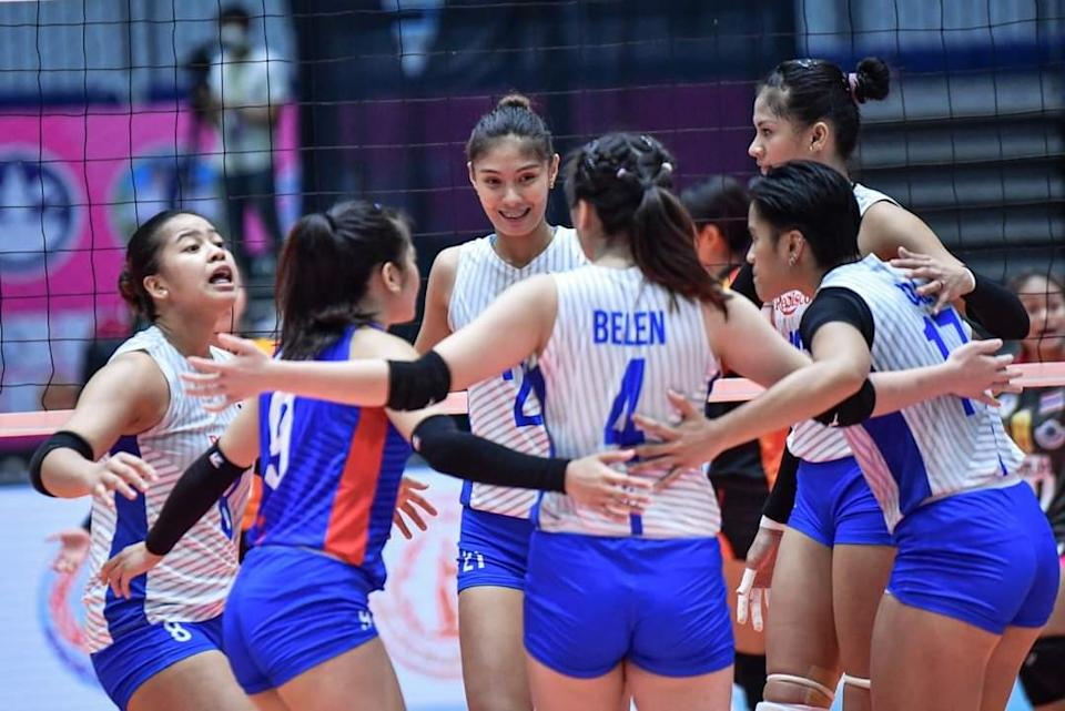 Team Rebisco of Philippines. (Photo: AVC - Asian Volleyball Confederation/Facebook)