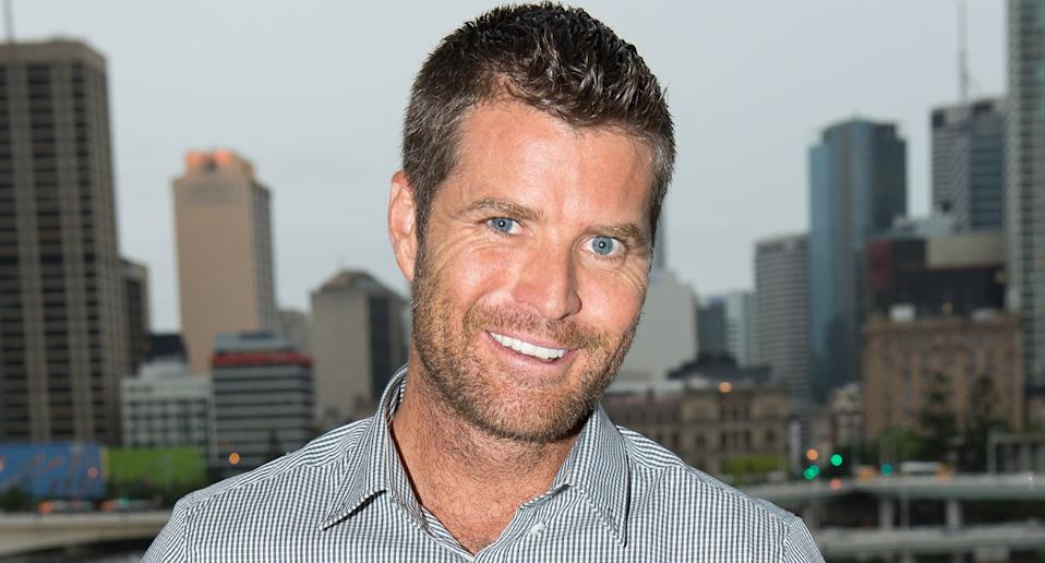 Pete Evans smiles at the camera.