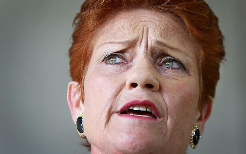 The vote was the first major test of popularity for Pauline Hanson, the Australian right-wing firebrand who founded One Nation - 2016 Getty Images
