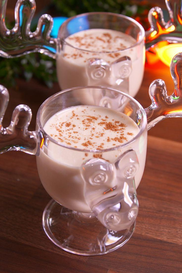 """<p>Warm up with this extra boozy eggnog inspired by National Lampoon's Christmas Vacation!</p><p>Get the recipe from <a href=""""https://www.delish.com/cooking/recipe-ideas/recipes/a50478/eddies-eggnog-recipe/"""" rel=""""nofollow noopener"""" target=""""_blank"""" data-ylk=""""slk:Delish"""" class=""""link rapid-noclick-resp"""">Delish</a>.</p>"""