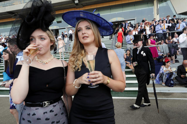 Britain Horse Racing - Royal Ascot - Ascot Racecourse - June 21, 2017 Racegoers at the races REUTERS/Eddie Keogh Livepic