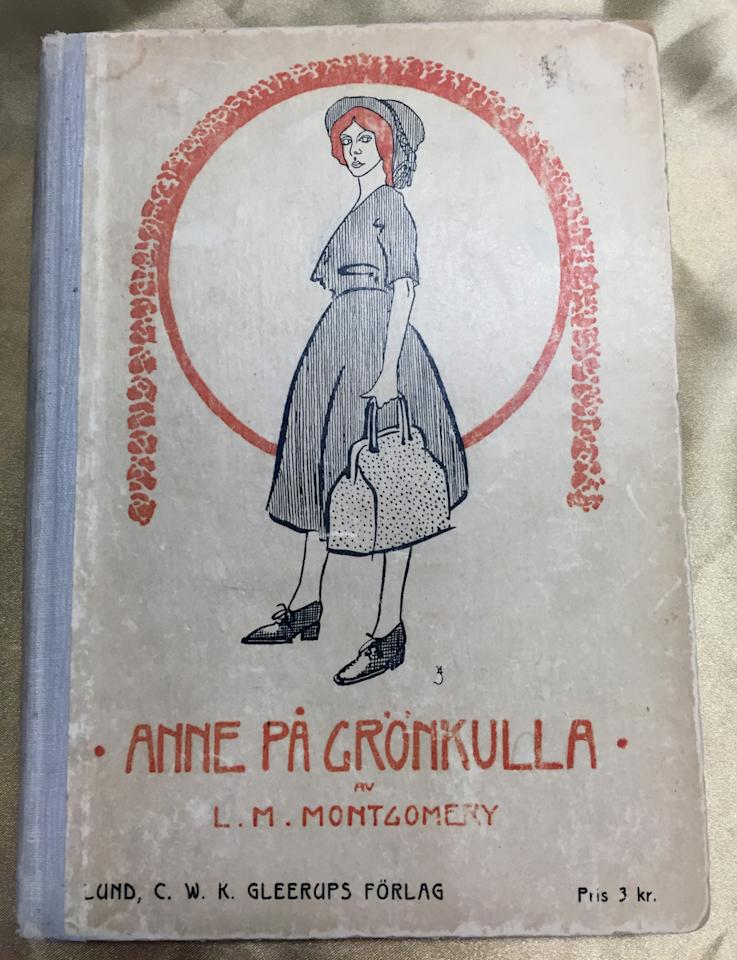 Anne's impact beyond North America started right away. This 1909 Swedish edition was printed the year following the first run in English. The collections at the University of Prince Edward Island alone include translations into 20 languages.