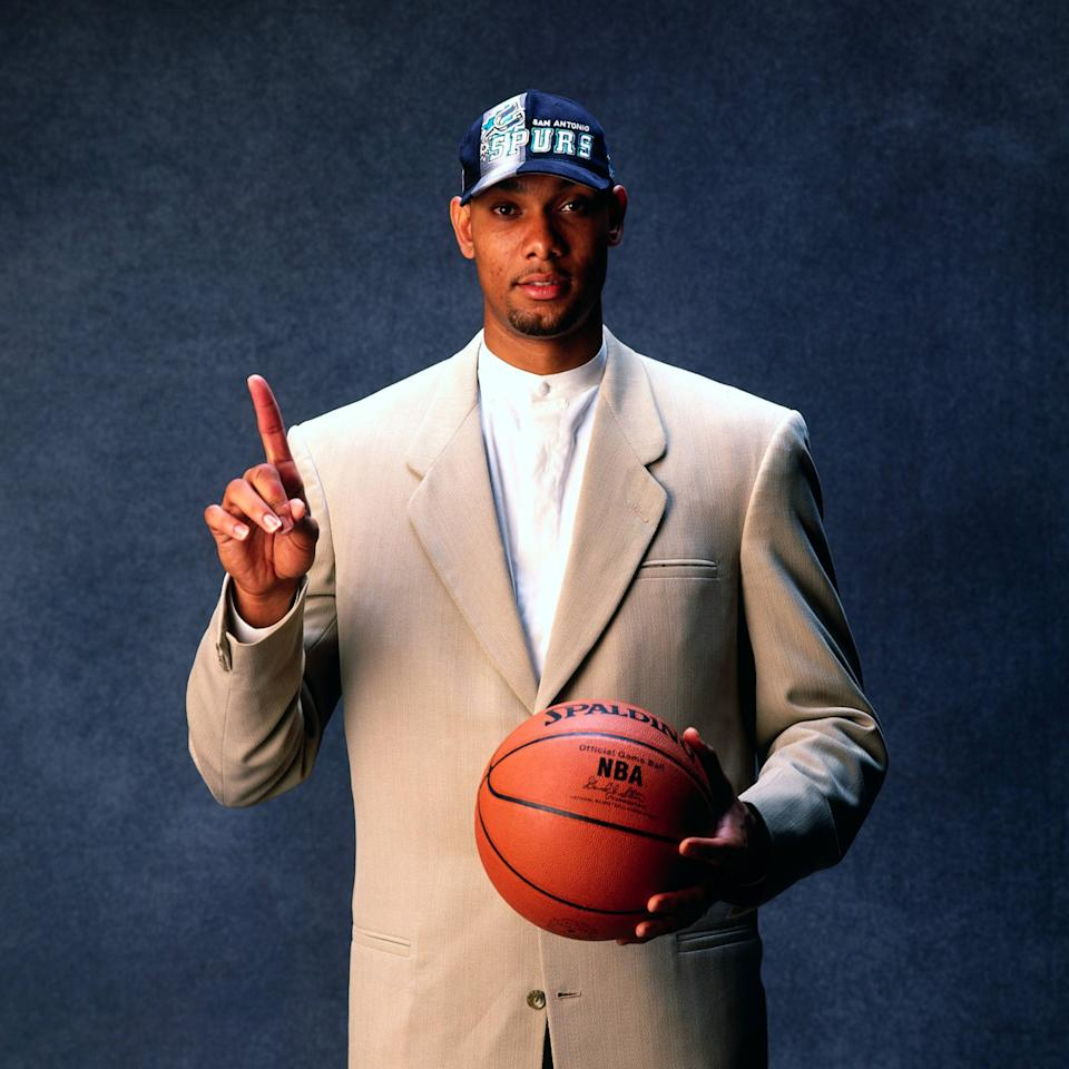 Iconic images from Tim Duncan s 19 seasons with the San Antonio Spurs
