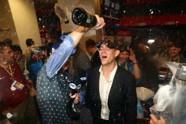 Theo Epstein is the world's greatest leader. (Getty Images)