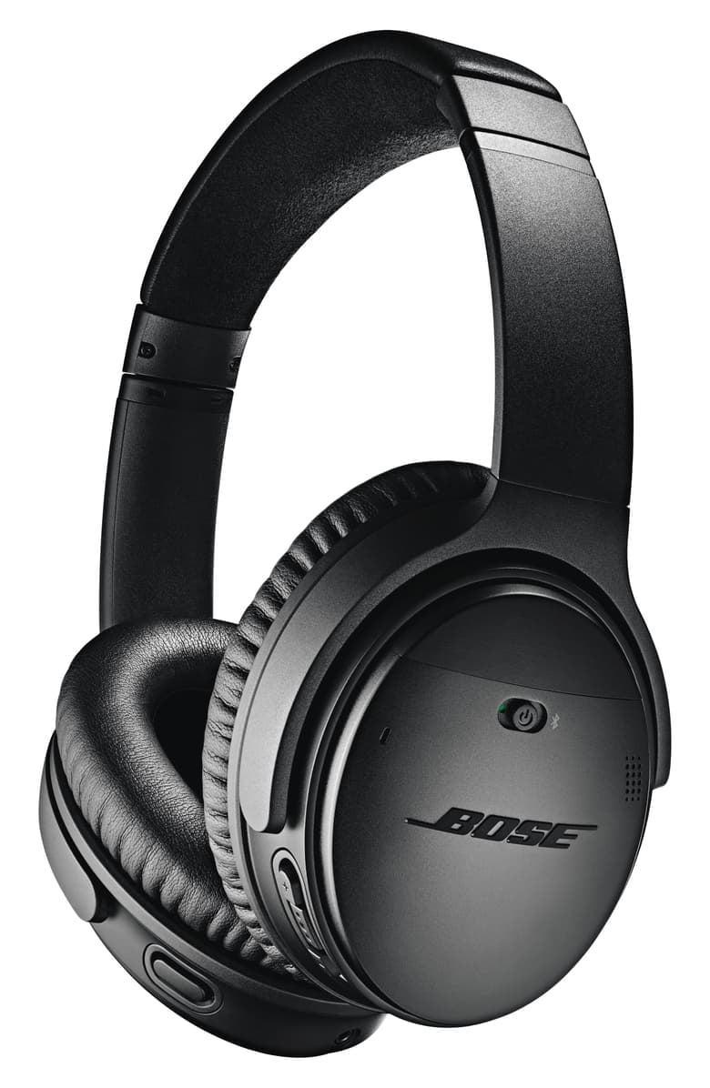 <p>It doesn't get much cooler than these <span>Bose QuietComfort 35 Wireless Headphones II With Google Assistant</span> ($349).</p>