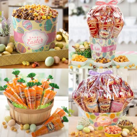 Add Some 'Pop' To Your Easter Hop with Popcornopolis Easter-Themed Gifts and Mouthwatering Treats