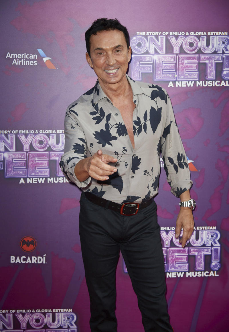 "Photo by: zz/KGC-247/STAR MAX/IPx 2019 6/27/19 Bruno Tonioli at the press night for ""On Your Feet: The Story of Emilio & Gloria Estefan"" held at the London Coliseum, St. Martin's Lane, London, England, UK."