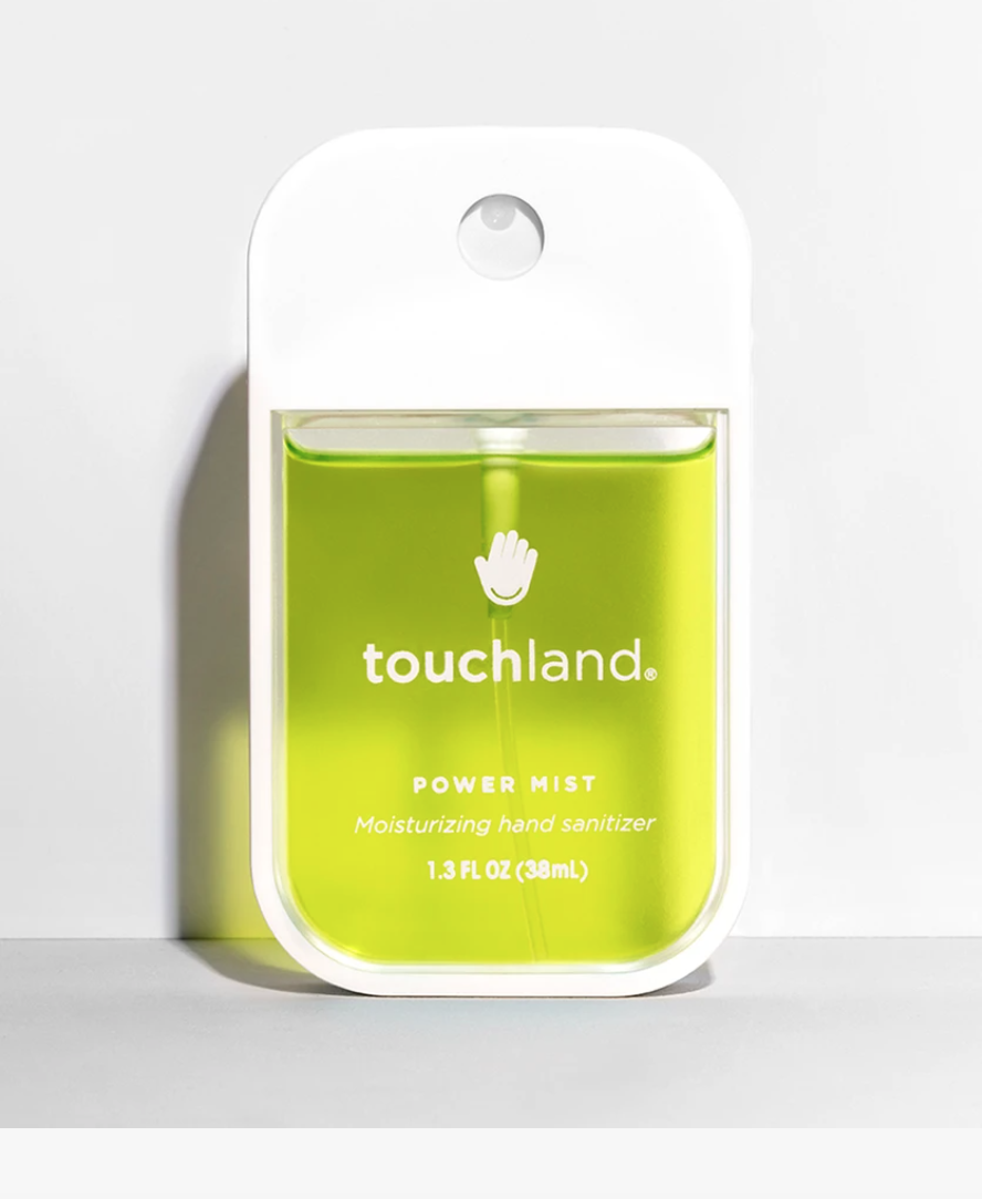 """<p><strong>Touchland</strong></p><p>ulta.com</p><p><strong>$12.00</strong></p><p><a href=""""https://go.redirectingat.com?id=74968X1596630&url=https%3A%2F%2Fwww.ulta.com%2Fpower-mist-aloe-vera%3FproductId%3Dpimprod2012307&sref=https%3A%2F%2Fwww.womenshealthmag.com%2Fhealth%2Fg31469255%2Fbest-hand-sanitizers%2F"""" rel=""""nofollow noopener"""" target=""""_blank"""" data-ylk=""""slk:Shop Now"""" class=""""link rapid-noclick-resp"""">Shop Now</a></p><p>This handheld spray bottle makes sanitizing easy and chic. It spritzes moisturizing oils, like lemon and lime essential oils, along with germ-fighting ethyl alcohol at 67 percent.</p>"""