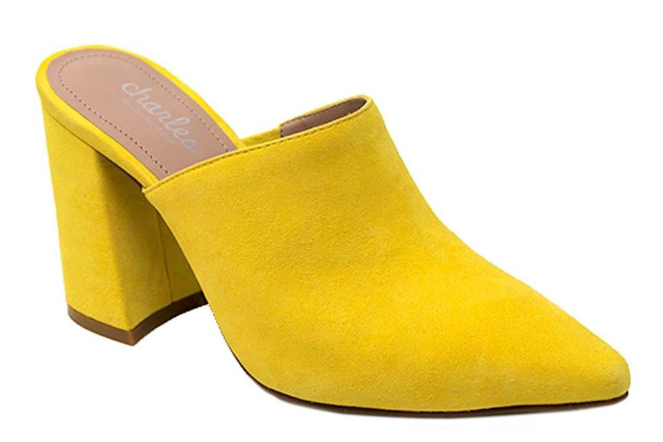 yellow mules, charles david