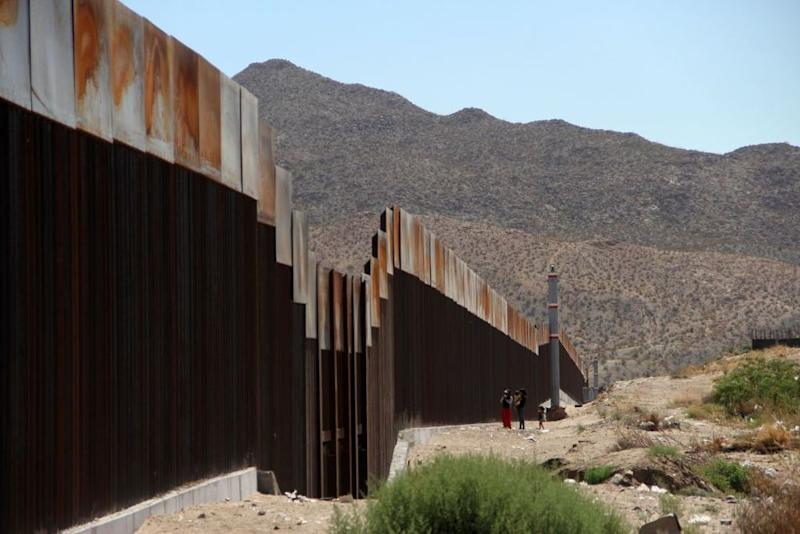 The border wall between the U.S. and Mexico | HERIKA MARTINEZ/AFP/Getty Images