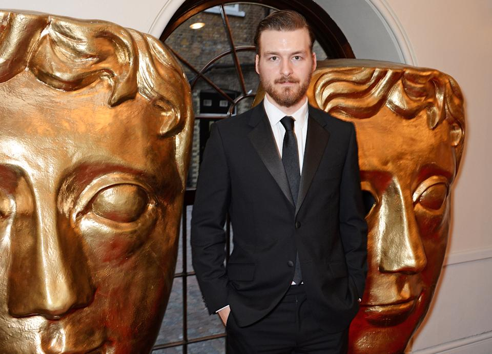 LONDON, ENGLAND - APRIL 27:  Matt Stokoe poses in the press room at the BAFTA Television Craft Awards at The Brewery on April 27, 2014 in London, England.  (Photo by David M. Benett/Getty Images)