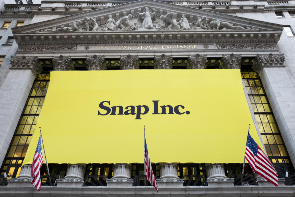 Companies like Snap have made their IPOs with special classes of voting shares to retain control, a move that some shareholders disapprove of. Other tech companies may be eyeing IPOs with even more restrictions for shareholders — such as the right to sue in a class action. (AP Photo/Mark Lennihan)