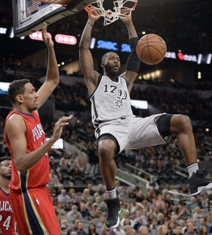 Jonathon Simmons has been a solid rotation player for the Spurs the past two seasons. (AP)