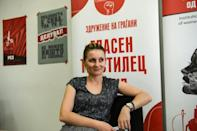"""Кristina Аmpeva """"joined this fight with all my heart and soul to help those disenfranchised workers"""" in Macedonia's textile sector"""