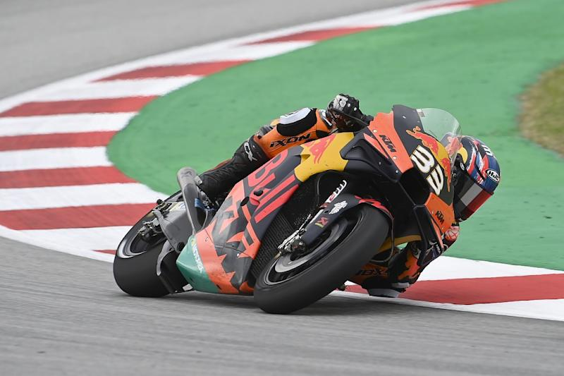 Binder: Gripless end to Catalan GP like riding in rain
