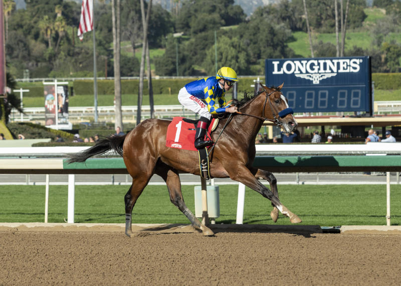 Authentic gives Baffert Ky Derby contender with Sham victory