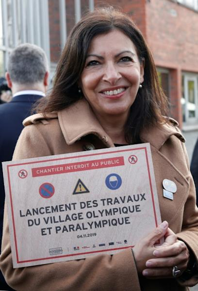 Mayor of Paris Anne Hidalgo said Airbnb was 'destabilising local businesses' in the city which will host the 2024 Olympics (AFP Photo/GONZALO FUENTES)