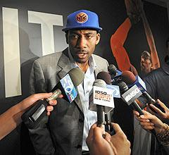 Will Amar'e Stoudemire's commitment to the Knicks sway LeBron James' decision?
